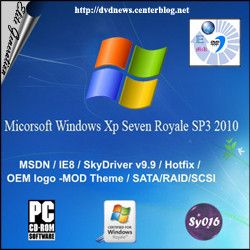 Windows XP seven Royale SP3 2010