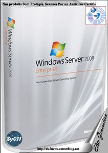Widows server 2008 Enterprise